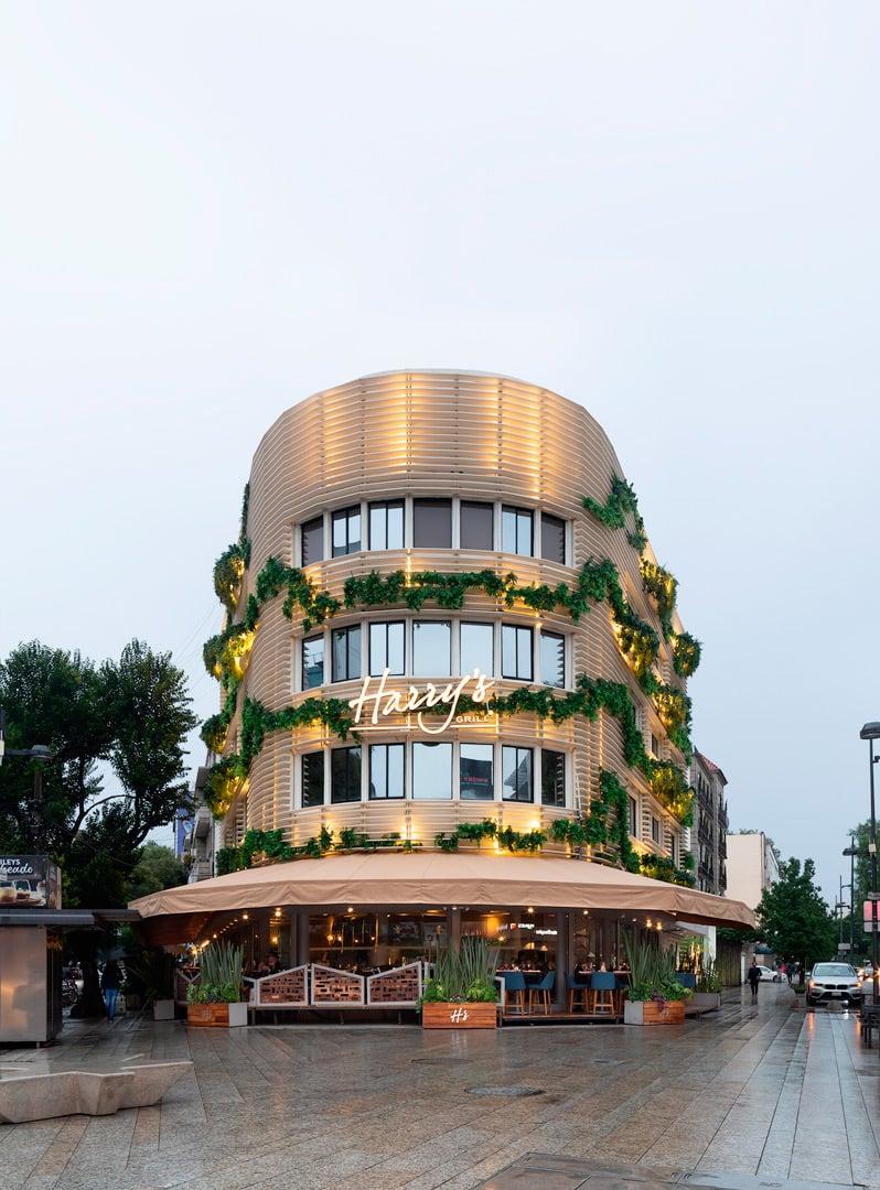 Harry's Masaryk, Concepto Visual Estudio, Diseño de Restaurante